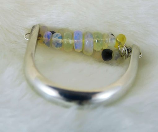 Handmade Opal Ring - Dazzle Motion Ring 2