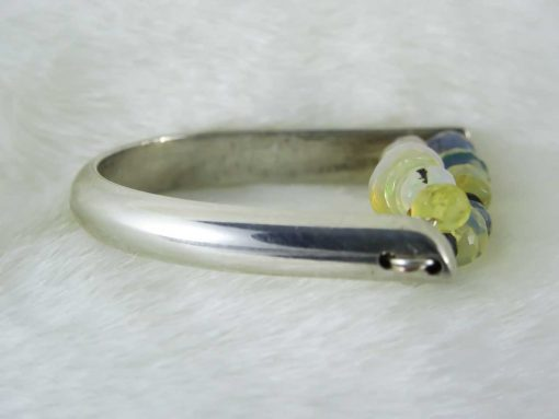 Handmade Opal Ring - Dazzle Motion Ring 3