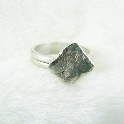 Handmade Sterling Silver Token Ring 1