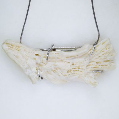 Handmade Jewellery - Beachcomber Bone Coral Necklace Photo 1