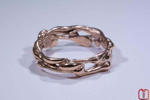 Handmade Rose Gold Ring Photo 1
