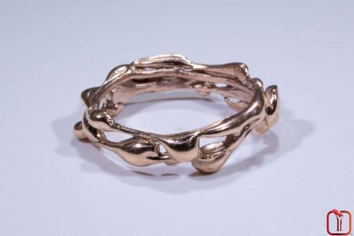 Handmade Rose Gold Ring Photo 2