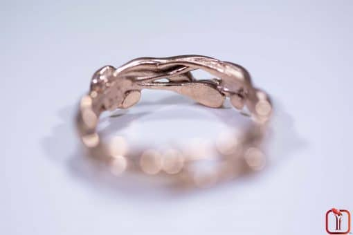 Handmade Rose Gold Ring Photo 4