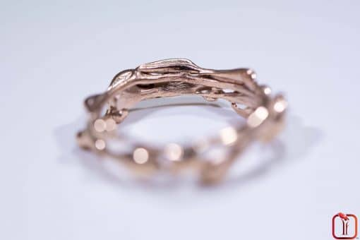 Handmade Rose Gold Ring Photo 3