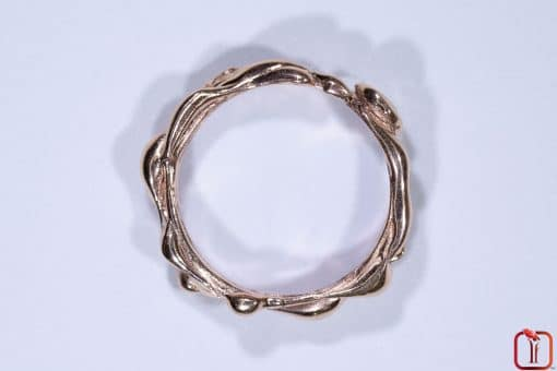 Handmade Rose Gold Ring Photo 5