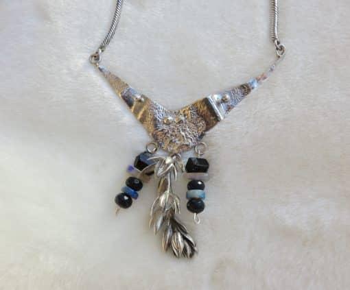 Handmade goddess necklace